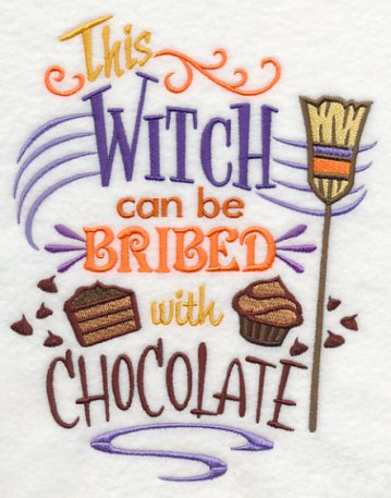 witch can be brided with chocolate