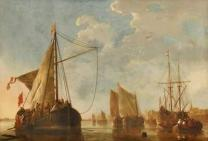 aelbert-cuyp-shipping-on-the-maas-at-dordrecht